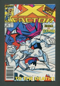 X-Factor #49  / 9.6 NM+ /  Newsstand / December 1989