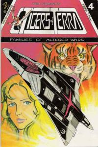 Tigers of Terra #4 FN; Mind-Visions | save on shipping - details inside