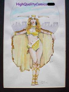 VIKING QUEEN, Limited, Signed, Numbered by Dameon Willich, #23/100, Blond