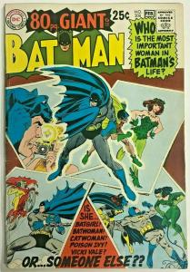 BATMAN#208 FN+ 1969  EIGHTY PAGE GIANT DC SILVER AGE COMICS