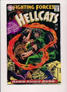 Our Fighting Forces, Featuring HELLCATS #109 ~ DC Comics 1968 ~ FN (HX508)