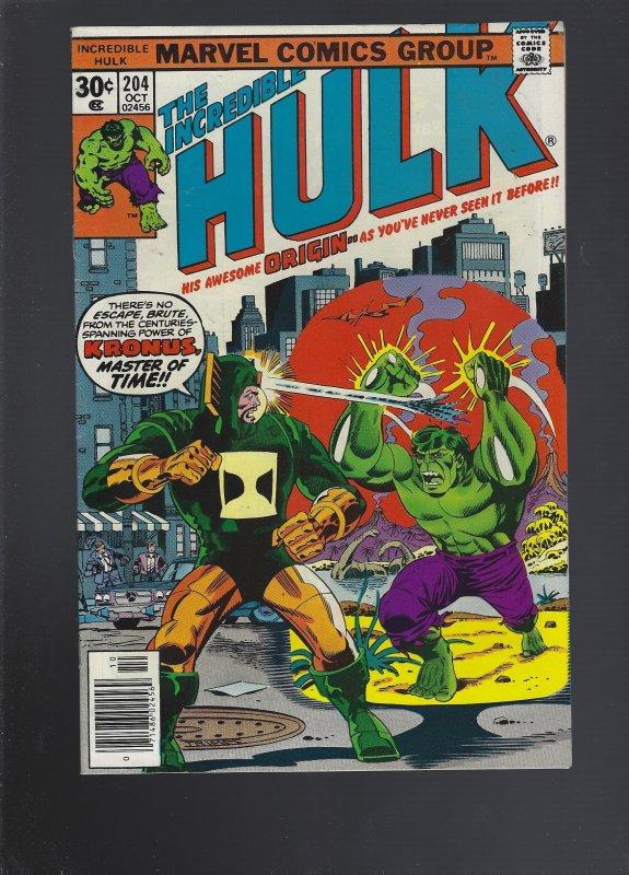 The Incredible Hulk #204 (1976)