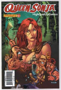 QUEEN RED SONJA #11, NM-, She-Devil, Mel Rubi, 2009, more RS in store