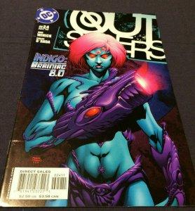 Outsiders #24 NM Indigo: Braniac 8.0 DC Comics (2005)