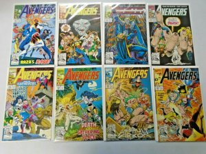 Avengers Comic Lot From #351-402 (Last Issue) 41 Diff Average 8.5 VF+ (1992-96)