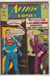 Action Comics #345 (Jan-67) FN/Vf+ High-Grade Superman