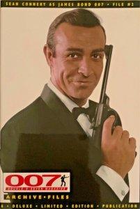 007 JAMES BOND MAGAZINE  ARCHIVE FILES: SEAN CONNERY AS JAMES BOND FILE #2 NM.