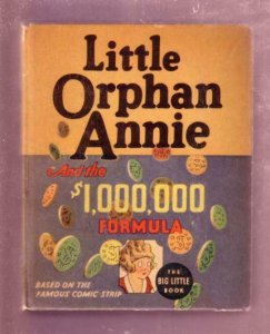 LITTLE ORPHAN ANNIE-MILLION DOLLAR FORMULA 1936, # 1186 FN/VF