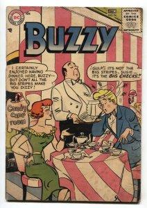 Buzzy #74 1957-comic book-teen humor-nice art-g/vg