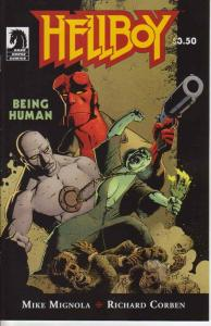 Hellboy: Being Human #1 VF/NM; Dark Horse | save on shipping - details inside