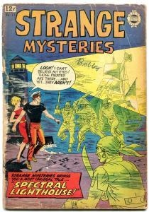 Strange Mysteries #17 1964- Super Golden Age horror reprints- G