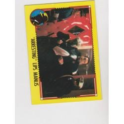 1990 Topps DICK TRACY-ARRESTING LIPS MANLIS #28