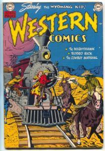 Western Comics #17 1950-WYOMING KID-NIGHT HAWK-RODEO RICK-COWBOY MARSHAL vf