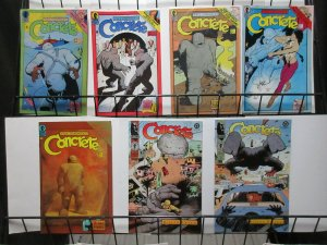Paul Chadwick's Concrete Lot of 7Diff from Dark Horse Comics