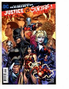 Justice League Vs. Suicide Squad Complete DC Comics Ser. # 1 2 3 4 5 6 NM TW59