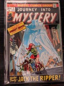 JOURNEY INTO MYSTERY #2 VF( maybe higher) Marvel 1972