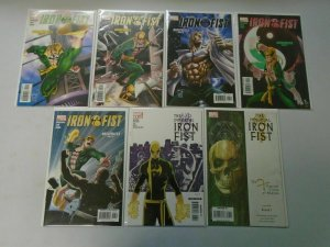 Modern Iron Fist comic lot 25 different issues 8.0 VF