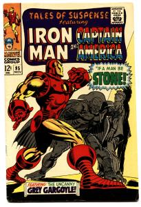 TALES OF SUSPENSE #95 comic book-IRON MAN/CAPTAIN AMERICA FN/VF