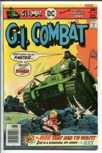 G.I. COMBAT #193 1976-DC-THE HAUNTED TANK-JOE KUBERT COVER-nm-