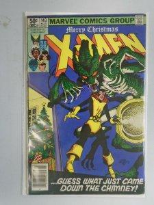 Uncanny X-Men #143 Newsstand edition 5.0 VG FN (1981 1st Series)