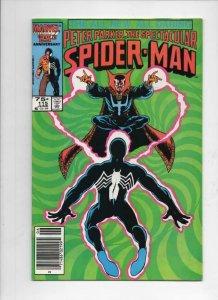 Peter Parker SPECTACULAR SPIDER-MAN #115 VF+, Dr Strange 1976 1986 Marvel, UPC