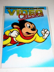 VIDEO CLASSICS #1, NM-, Mighty Mouse Adventures, more in store