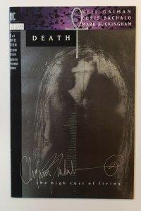 Death: The High Cost Of Living Neil Gaiman Sandman Print error (19-20 Inverted)