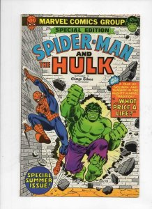 SPIDER-MAN and HULK #1, VF/NM, Chicago Tribune, 1980, more SM in store