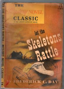 Mystery Novel Classic #70 1944-let The Skeletons Rattle-F.C. Davis-G/VG