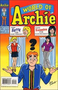 Archie WORLD OF ARCHIE #21 VF