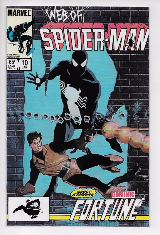 Web of Spider-Man #10 - Dominic Fortune (Marvel, 1986) - VF