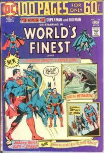 WORLDS FINEST 224 FINE   August 1974 COMICS BOOK