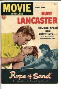 MOVIE THRILLERS #1-1949-BURT LANCASTER-SOUTHERN STATES PEDIGREE-fn+