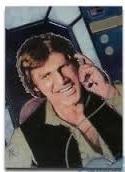 1996 Topps Finest Star Wars HAN SOLO #7 Chromium