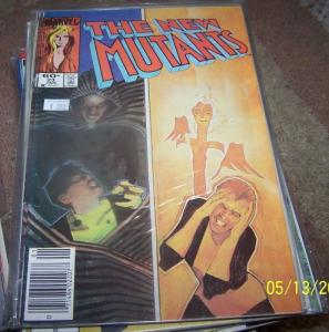 NEW MUTANTS  # 23 1984 marvel   XMEN  CLOAK AND DAGGER