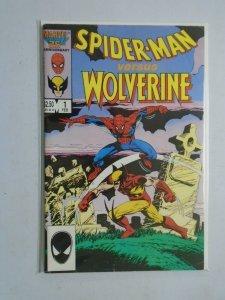 Spider-Man vs. Wolverine #1 4.0 VG (1987 1st Edition)