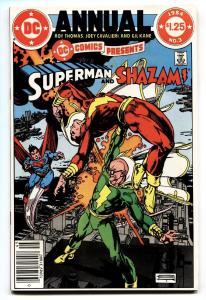 DC Comics Presents Annual #3-1984-Shazam and Superman DC NM-