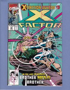 X-Factor #60 NM- Cyclops vs Havok