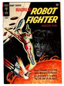MAGNUS ROBOT FIGHTER #13 comic book 1966-GOLD KEY-RUSS MANNING ART-SCI-FI