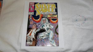 1992 MARVEL SILVER SABLE # 2