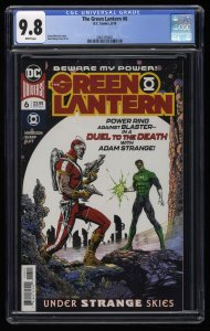 The Green Lantern #6 CGC NM/M 9.8 White Pages