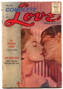 Complete Love Magazine Vol. 31 #6 1956- Reckless Heart