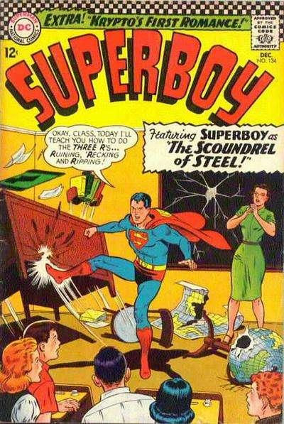 Superboy (1949 series) #134, VG- (Stock photo)