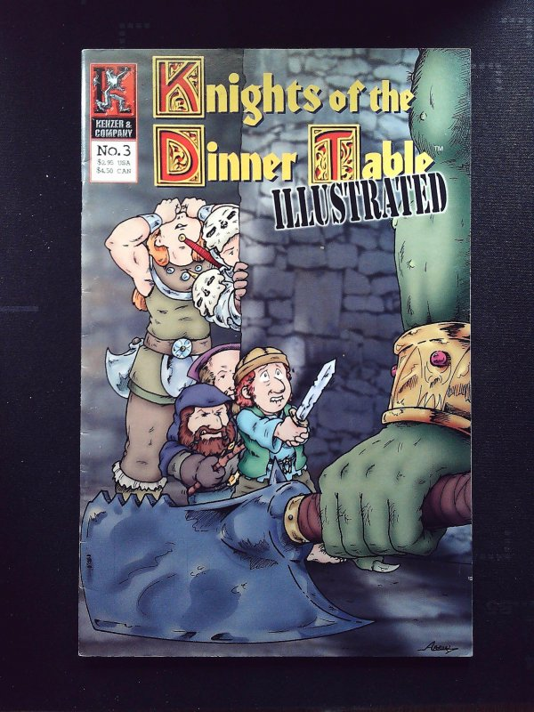 Knights of the Dinner Table: Illustrated #3 (2000)
