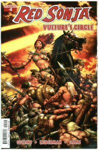 RED SONJA Vulture's Circle #4 A, NM-, She-Devil, Anacleto,2015,more RS in st