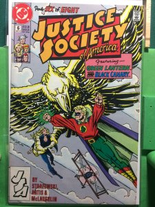 Justice Society of America #6 of 8 1991 series