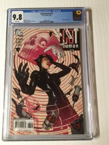Catwoman 76 Cgc 9.8 White Pages Adam Hughes Cover AH!
