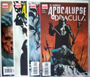 X-Men, Apocalypse Vs Dracula #1to4 (Apr-09) NM+ Super-High-Grade X-Men