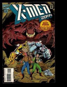 Lot Of 10 X-Men 2099 AD Marvel Comics 1 2 3 4 12 13 14 15 18 24 Spider-Man EK10