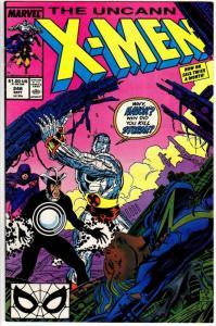 X MEN 248 FN-  Sept. 1989 1st Jim Lee on X Men